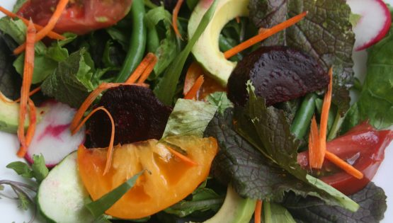 Beet and Avocado Salad for Two, Barbara Sinclair Holistic Health and Healing