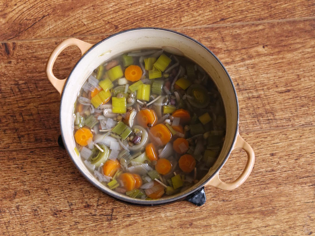 Barbara Sinclair Healing Recipe of the Month Chicken Soup with Autumn Squash Muffins