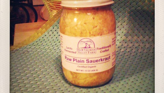 Healthy Food of the Week Raw Sauerkraut Recipe Barbara Sinclair
