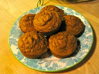 Pumpkin Muffins Barbara SInclair Healing Recipe