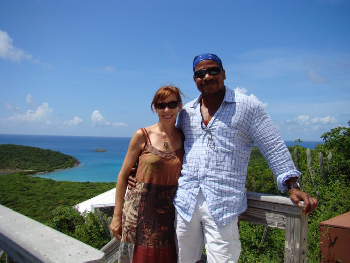 Ralph and me. St. Thomas