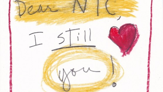 Barbara Sinclair My Love Letter to New York City. I still love you card!