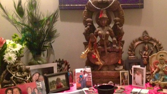 Barbara Sinclair Happy Healing Wise Earth Ayurveda WEA Altar