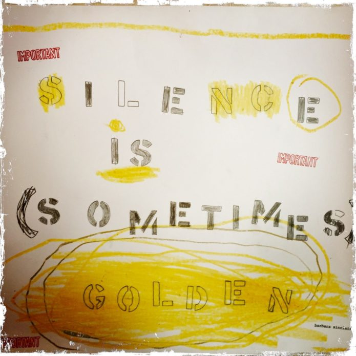 Silence is Sometimes Golden Two Boots Jersey City Pizza Ayurvedic Tip of the Week: Be Mindful Season Shift Vata Ayurveda Holistic Health and Healing