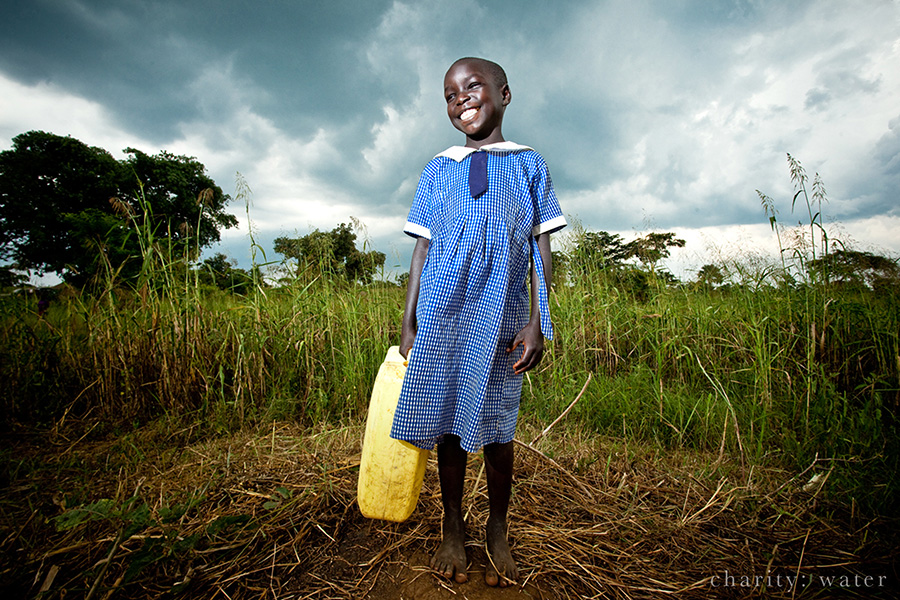 Can You Believe It? Uganda Young Girl Water
