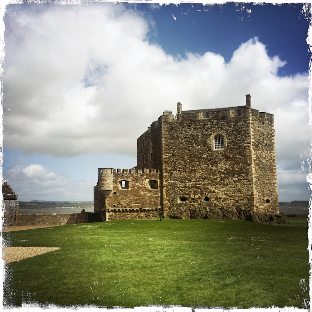Barbara Sinclair, Blackness Castle, Haste Ye Back, Scotland