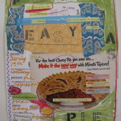 Barbara Sinclair Gallery mixed-media titled Easy as Pie