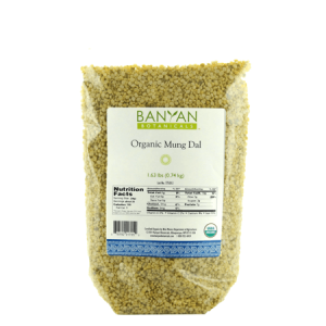 Barbara Sinclair Holistic Health,Organic Yellow Mung Dal from Banyan Botanicals