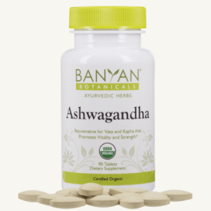 Strengthening Ashwagandha Tablets from Banyan Botanicals, Barbara Sinclair Holistic Health and Healing