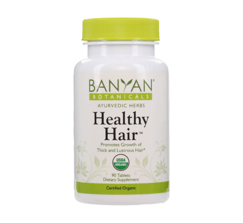 Healthy Hair Tablets by Banyan Botanicals, Barbara Sinclair Holistic Health Shop