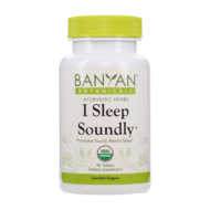I Sleep Soundly tablets by Banyan Botanicals, Barbara Sinclair Holistic Health & Healing website