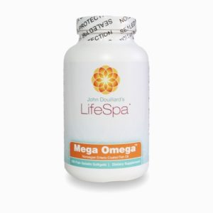Mega Omega 3 Fish Oil from Life Spa, Barbara Sinclair Holistic health