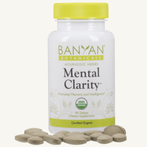 Mental Clarity Tablets by Banyan Botanicals, Barbara Sinclair Holistic Health & Healing