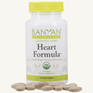 Heart Formula Tablets, organic, Banyan Botanicals, Barbara Sinclair Holistic Health