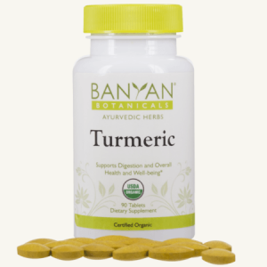 Turmeric Tablets, Organic by Banyan Botanicals, Barbara Sinclair Holistic Health & Healing