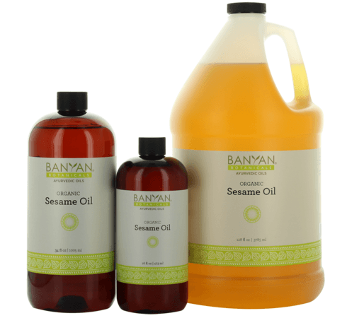 Sesame Oil (Organic), Banyan Botanicals, Barbara Sinclair Holistic Health