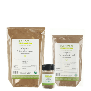 Heart Health Arjuna Bark Powder, organic, Banyan Botanicals, Barbara Sinclair Holistic Health & Healing