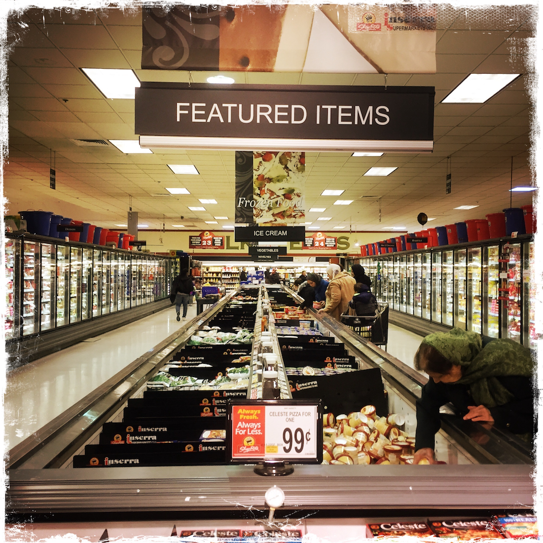 I Ventured Into A Supermarket and Didn't Know Whether to Laugh or Cry, Barbara Sinclair