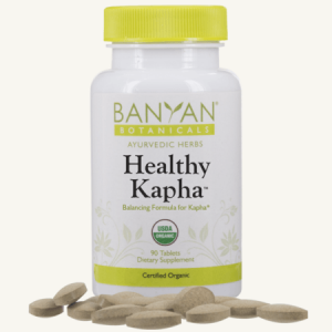 Healthy Kapha tablets by Banyan Botanicals, Barbara Sinclair Holistic Health & Healing