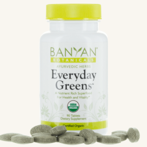 Everyday Greens Organic Tablets by Banyan Botanicals