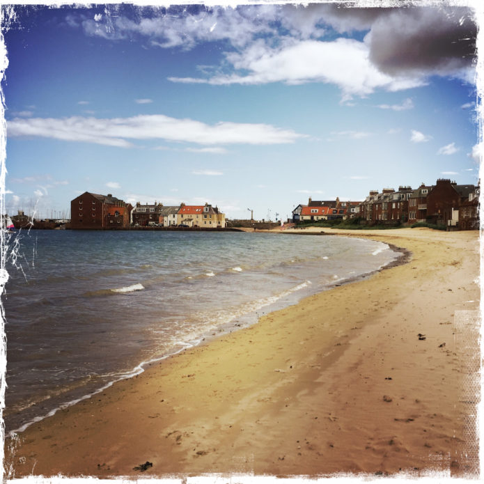 North Berwick beach in Scotland. Barbara Sinclair Holistic Health & Healing