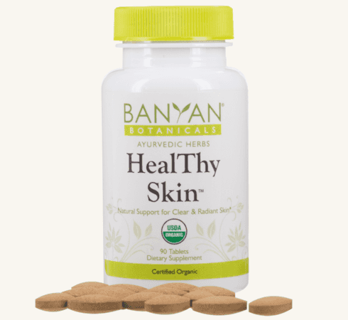 Banyan Botanicals Heal Thy Skin Tablets Barbara Sinclair Holistic Health & Healing