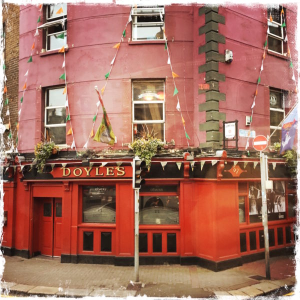 Doyle's Pub in Ireland by Barbara Sinclair