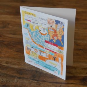 Idiom Holy Moley Note Card by Barbara Sinclair