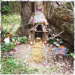 Fairy Sanctuary, Omega Institute, NY, photo by Barbara Sinclair