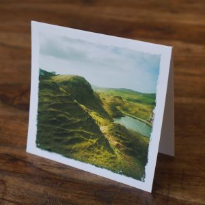 Fairy Glen Scotland Note Card by Barbara Sinclair