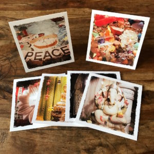 Peace and Love Multipack Note Cards. Photography by Barbara Sinclair