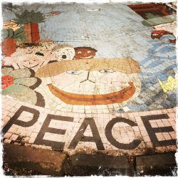 Peace Glasgow, Scotland, photo by Barbara Sinclair