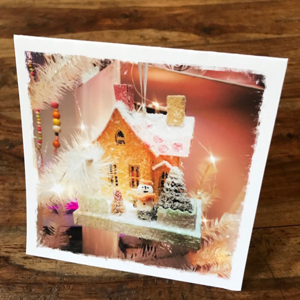 Holiday Decorations NYC Note Card , photo by Barbara Sinclair