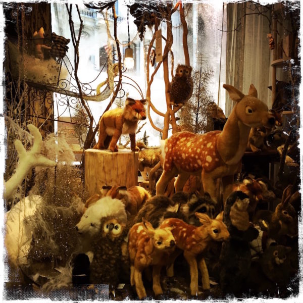 Holiday Menagerie at ABC Home, NYC, Photo by Barbara Sinclair