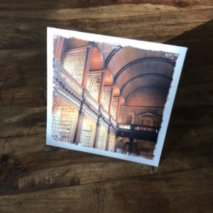 Long Room Library Note Card by Barbara Sinclair