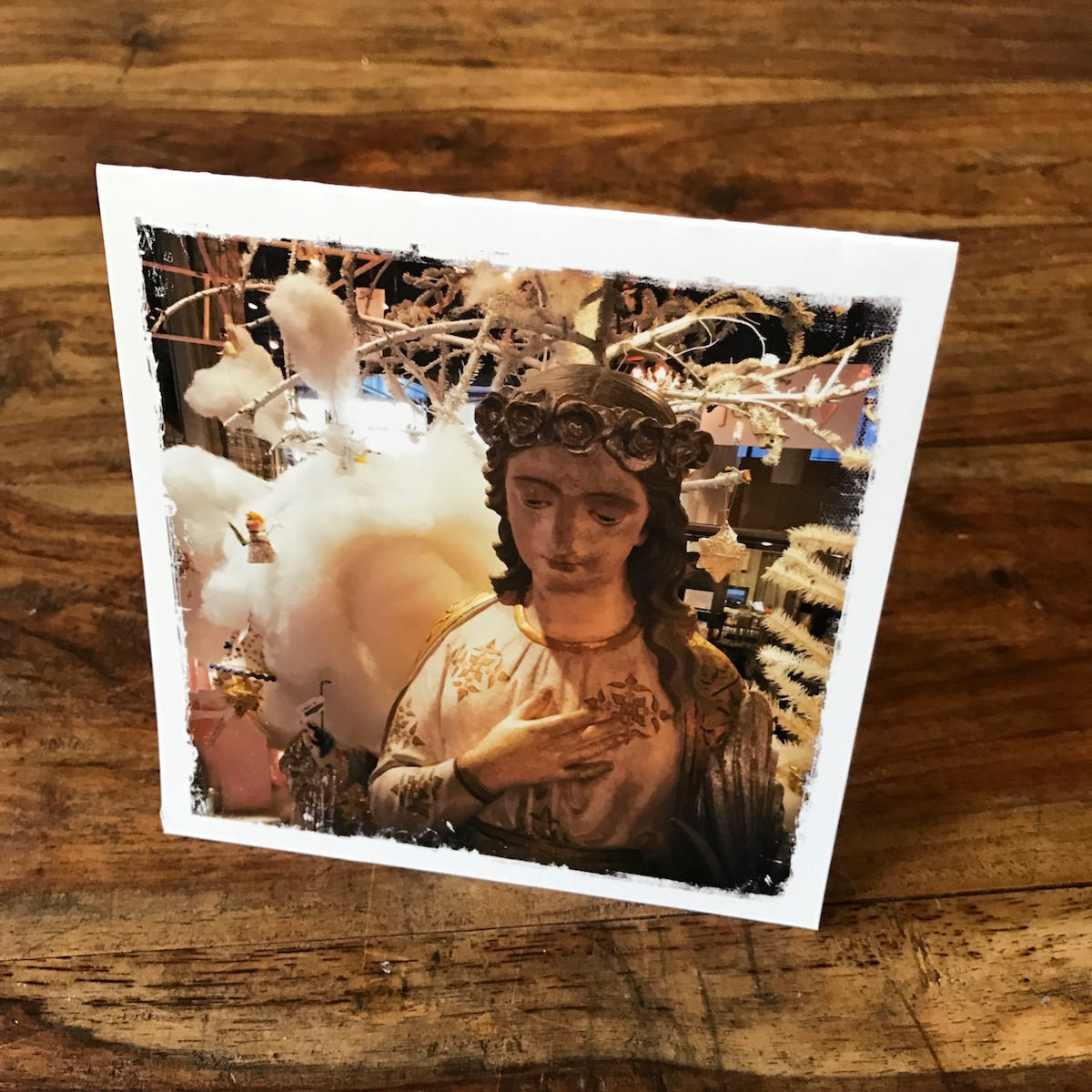 Madonna Note Card, ABC Home, Holidays, photo by Barbara Sinclair