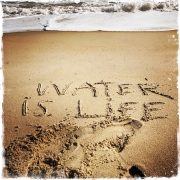 Water is Life, Mni Wiconi is Lakota for Water is Life! Photo by Barbara Sinclair