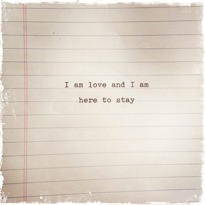 I Am Love and I Am Here to Stay, Barbara Sinclair