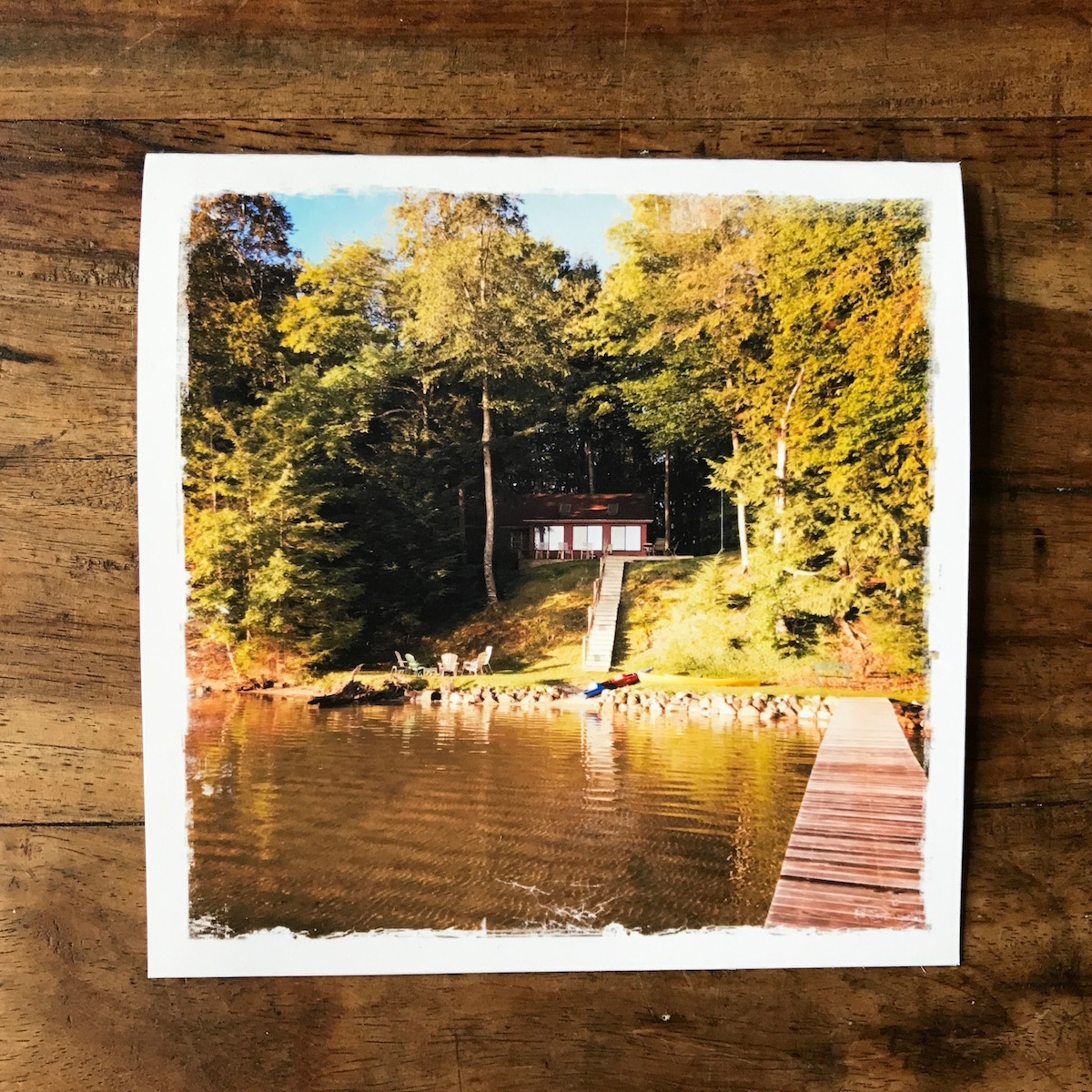 Cottage Life Note Card, Photo by Barbara Sinclair
