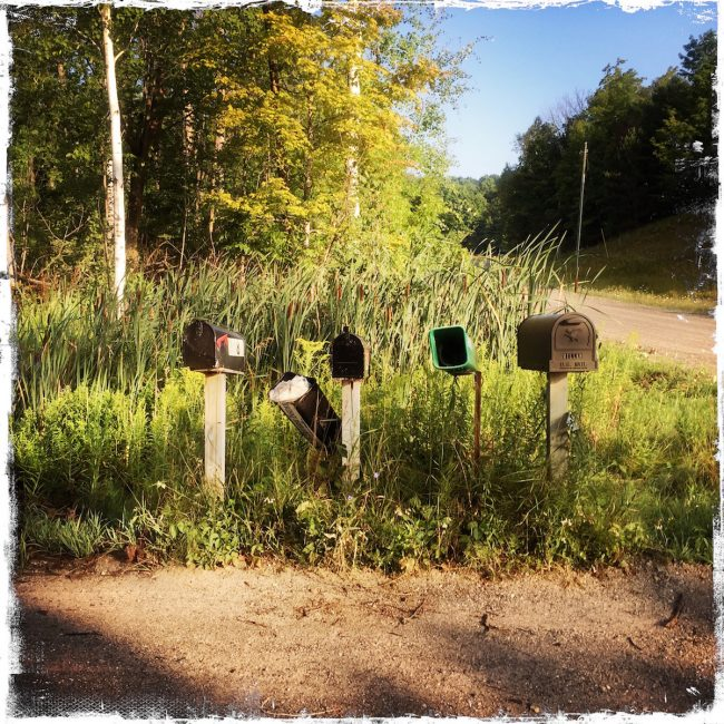 Custom Prints and Cards, country mailboxes, Barbara Sinclair