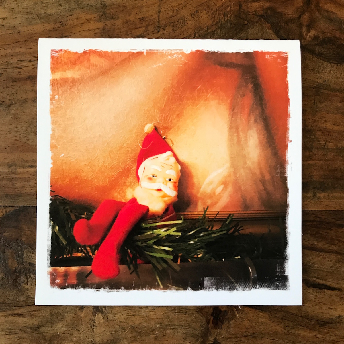Elf Note Card, photo by Barbara Sinclair