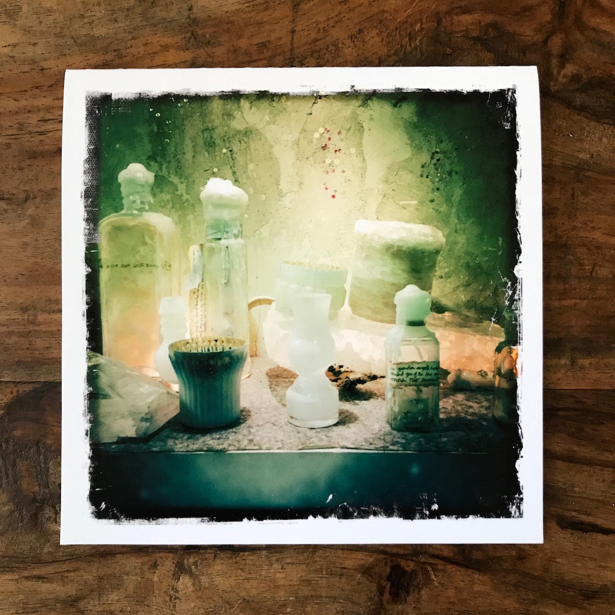 Holiday Still Life Note Card, photo by Barbara Sinclair