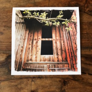 Barn Window in Catskills Note Card, photo by Barbara Sinclair
