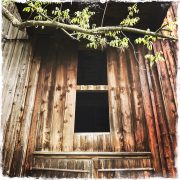 Barn Window in Catskills, photo by Barbara Sinclair