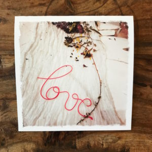 Love, ABC Home, NYC Note Card, photo by Barbara Sinclair