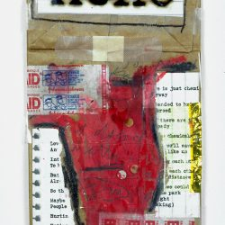 Ache by Barbara Sinclair Mixed-media